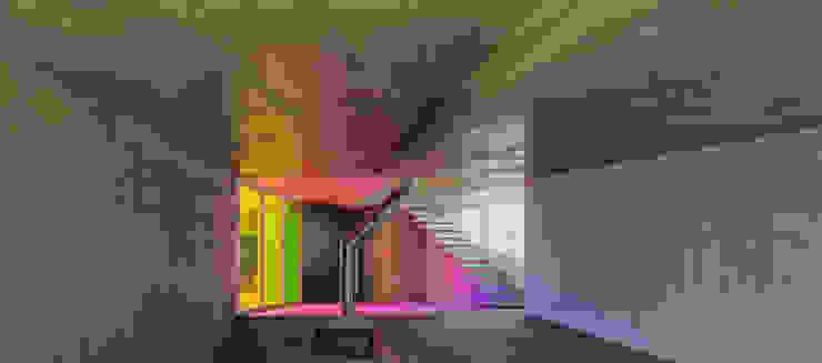 invasión de color Casas de estilo moderno de Espegel-Fisac architects Moderno