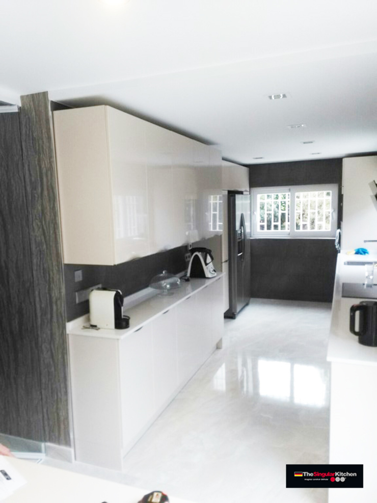 THE SINGULAR KITCHEN Dapur: Ide desain interior, inspirasi & gambar