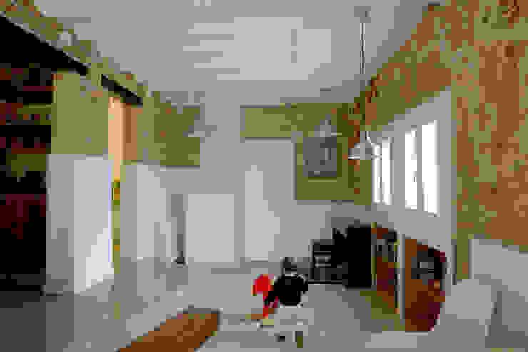 CASA CAN FOGARADA Salones de estilo rural de Miel Arquitectos Rural