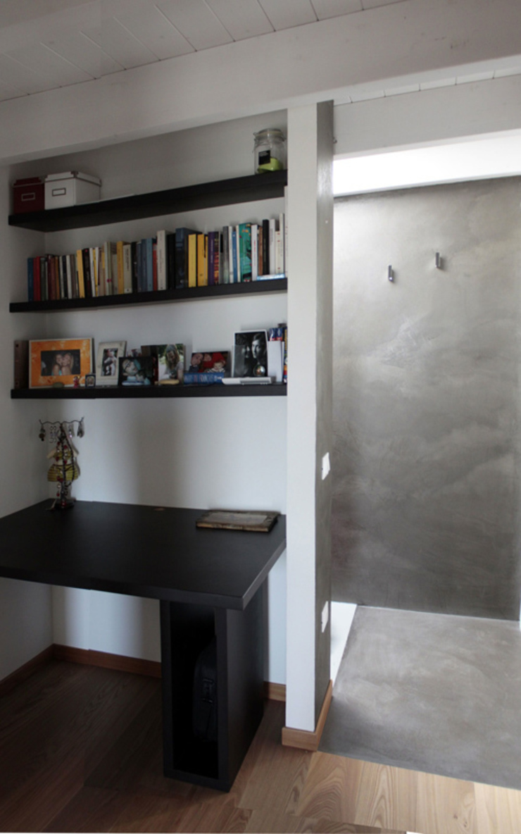 ellevuelle architetti モダンスタイルの寝室
