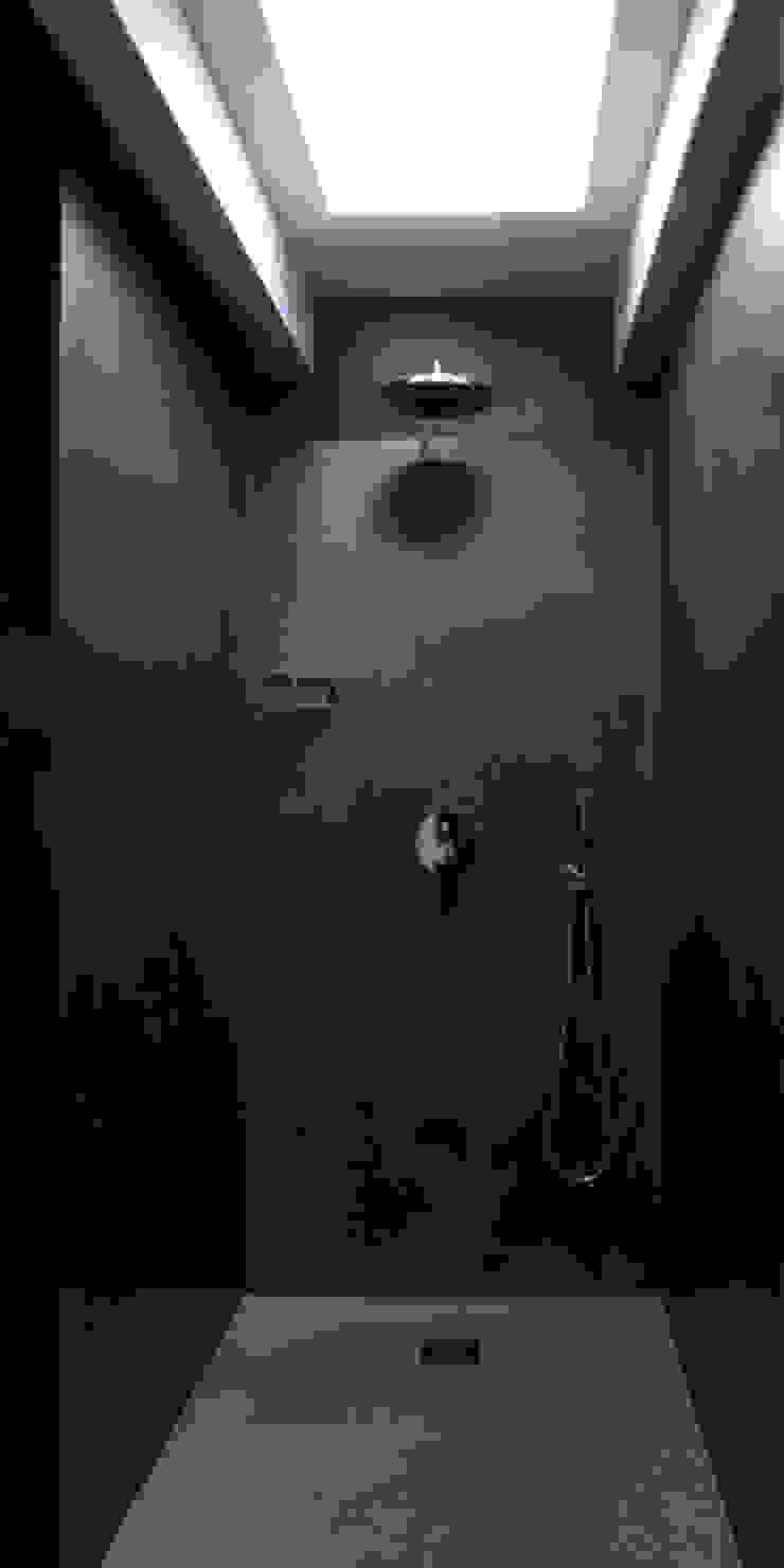 ellevuelle architetti モダンスタイルの お風呂
