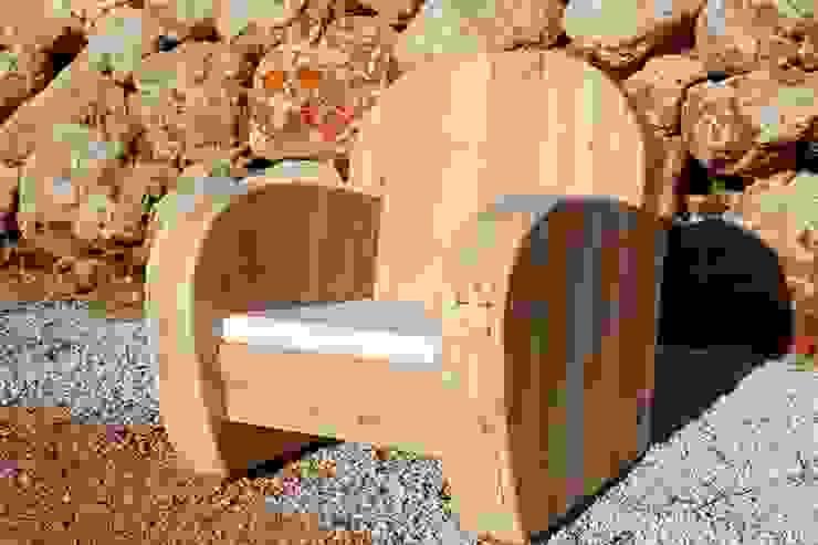 Fauteuil PATOU par Wood BC Éclectique