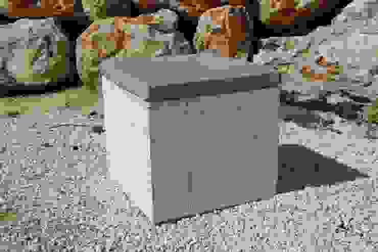 Pouf BEACH FREJUS par Wood BC Éclectique