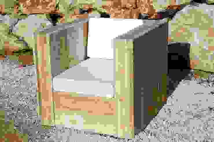 Fauteuil KUBB ONE par Wood BC Éclectique