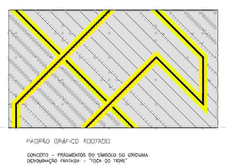 Padrão Gráfico Adotado Fitness por Douglas Piccolo Arquitetura e Planejamento Visual LTDA.
