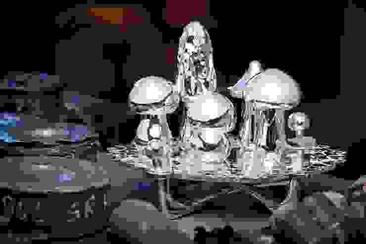 """""""Magic Mushrooms"""" by Wolfgang Joop od Wiener Silber Manufactur Klasyczny"""