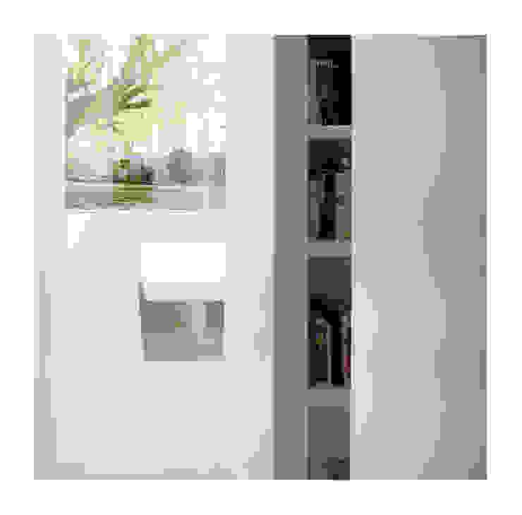 White on White Salas de Gianni Botsford Architects