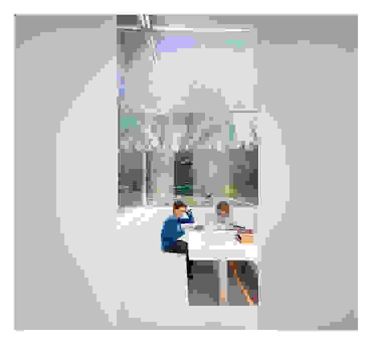 White on White Anexos de casa de Gianni Botsford Architects