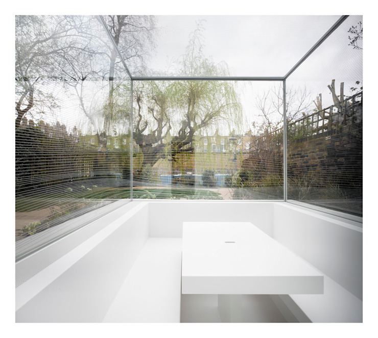 White on White Gianni Botsford Architects Conservatory