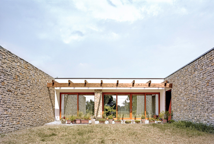 ellevuelle architetti Country style houses