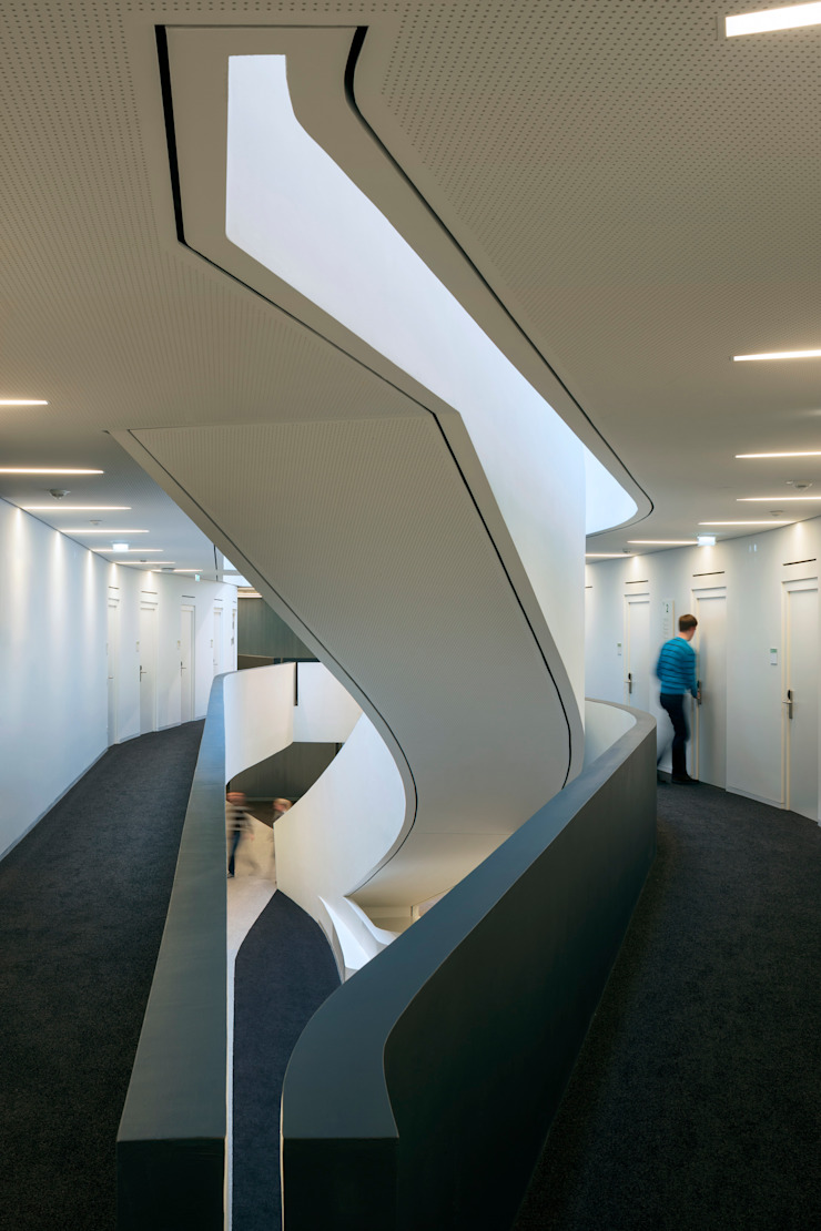 Vienna University of Economics and Business Plot 02 Rooms by Atelier Hitoshi Abe