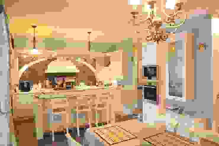 Experiments in art Nouveau style Кухня в стиле модерн от D O M | Architecture interior Модерн