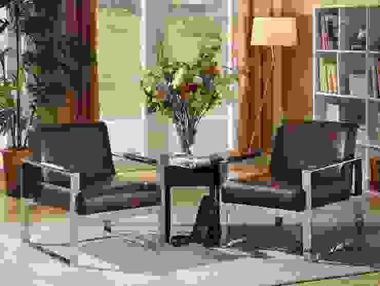 Leather Armchair from Locus Habitat Locus Habitat Living roomSofas & armchairs