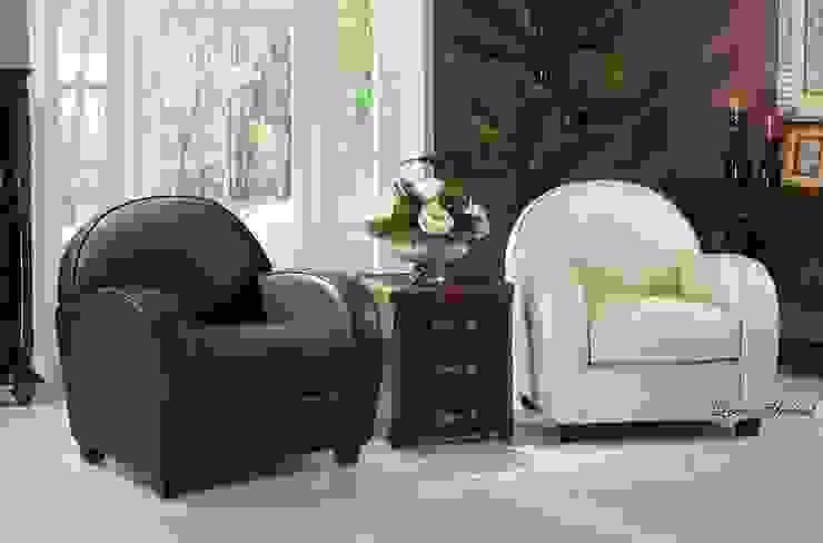 Leather Club Chair from Locus Habitat Locus Habitat Living roomSofas & armchairs