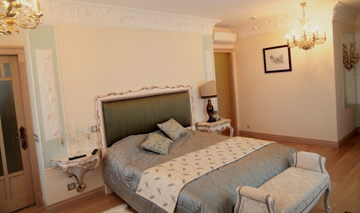 Experiments in art Nouveau style Спальня в стиле модерн от D O M | Architecture interior Модерн