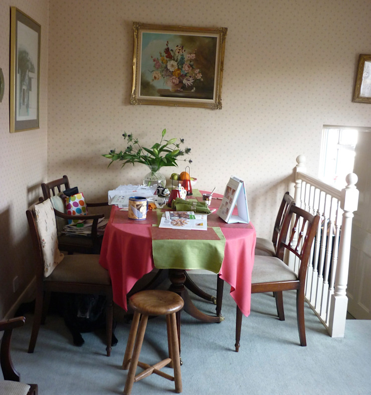 Dining Room Before: eclectic  by Deborah Warne Interiors Ltd, Eclectic
