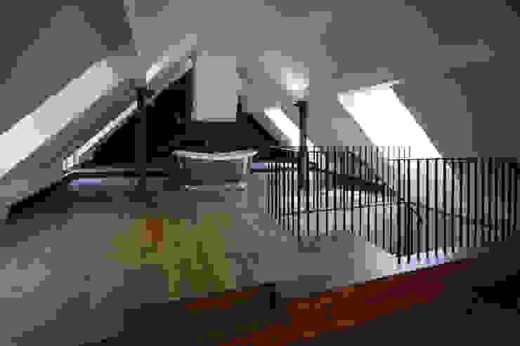 High Barn Modern Evler Astronaut Kawada Architecture Modern