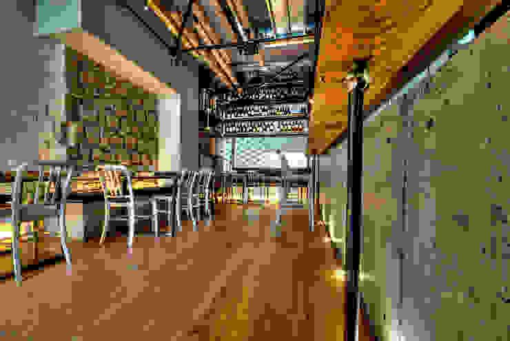 vinile Gastronomia in stile industrial di Ghelo Studio Industrial