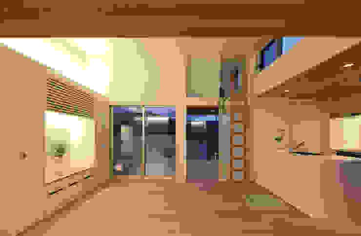 House in Heiwadai Nowoczesne domy od アトリエ スピノザ Nowoczesny