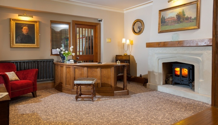 Sysonby Knoll Hotel Classic hotels by Deborah Warne Interiors Ltd Classic