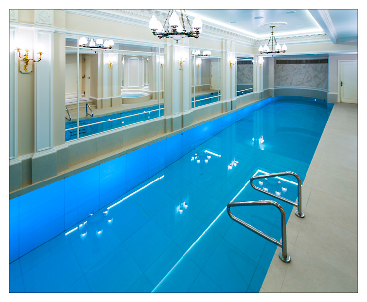 Party in and on the Pool with Moving Floor Pool by London Swimming Pool Company Класичний