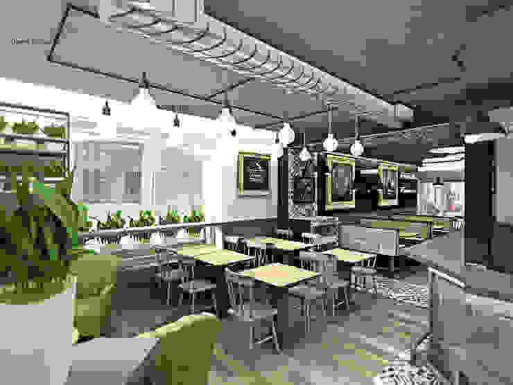 BurBaCa #1 designed by Davide Coluzzi DAZ architect Gastronomia in stile industrial di Davide Coluzzi DAZ architect Industrial