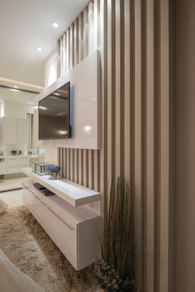 Refúgio à beira mar Quartos modernos por Actual Design Moderno