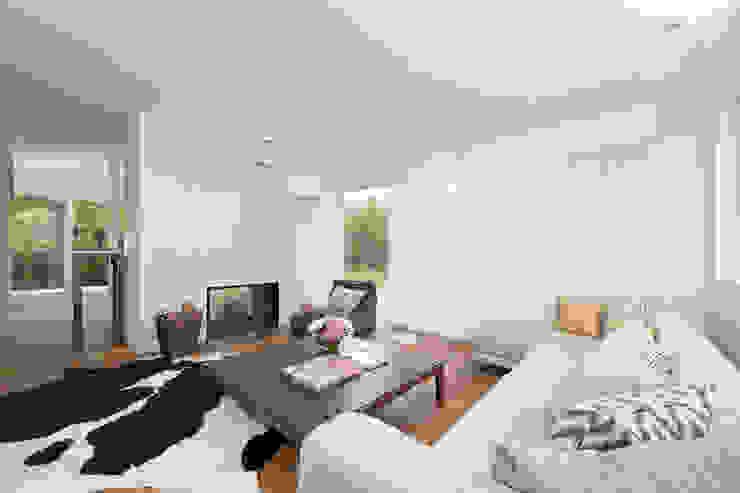 Salas de estilo  por Cubus Projekt GmbH, Moderno