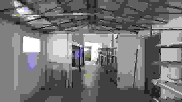 Vista verso la zona pranzo Ante operam di Studio Angelo Luigi Tartaglia Moderno