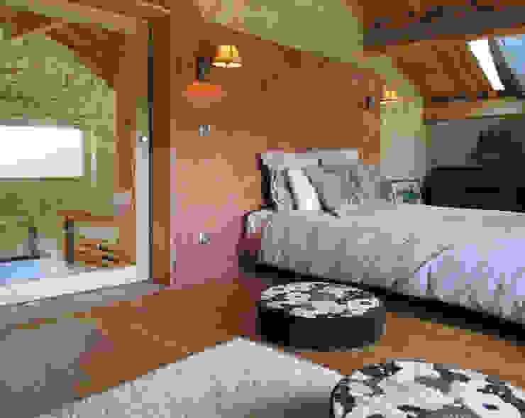 La chambre sous les toits par Christelle Morard Chataigner
