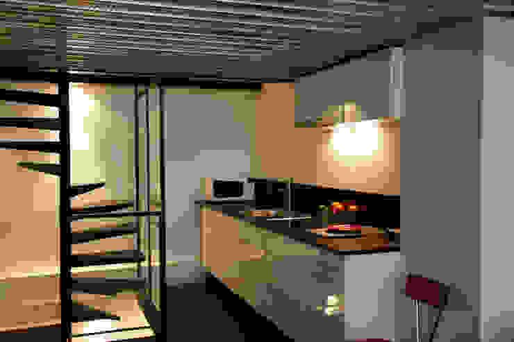 Cuisine Maisons industrielles par Karine Herz - Design Interieur Industriel