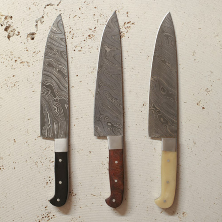 set of 3 chef knives Fate London 廚房廚房器具