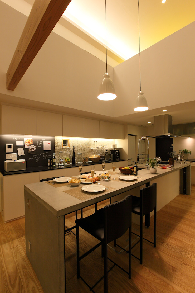 Sakurayama-Architect-Design Modern kitchen