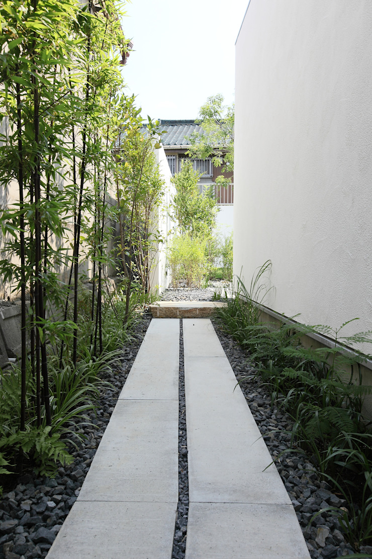 Sakurayama-Architect-Design Modern garden