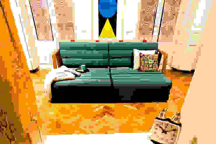 Гостиная в . Автор – UNAMO design ,