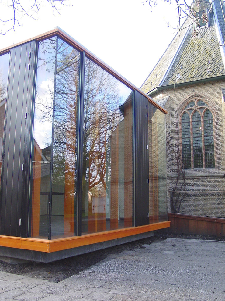 expansion of a historical church Linea architecten