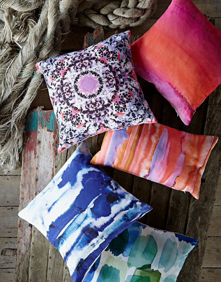 Amy Sia cushions by Amy Sia