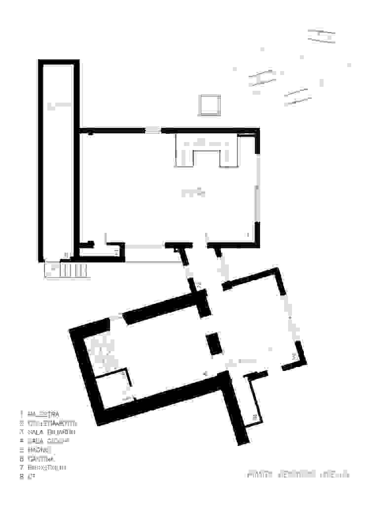 pianta secondo livello Architer Associati SpaAccessori per Piscina & Spa