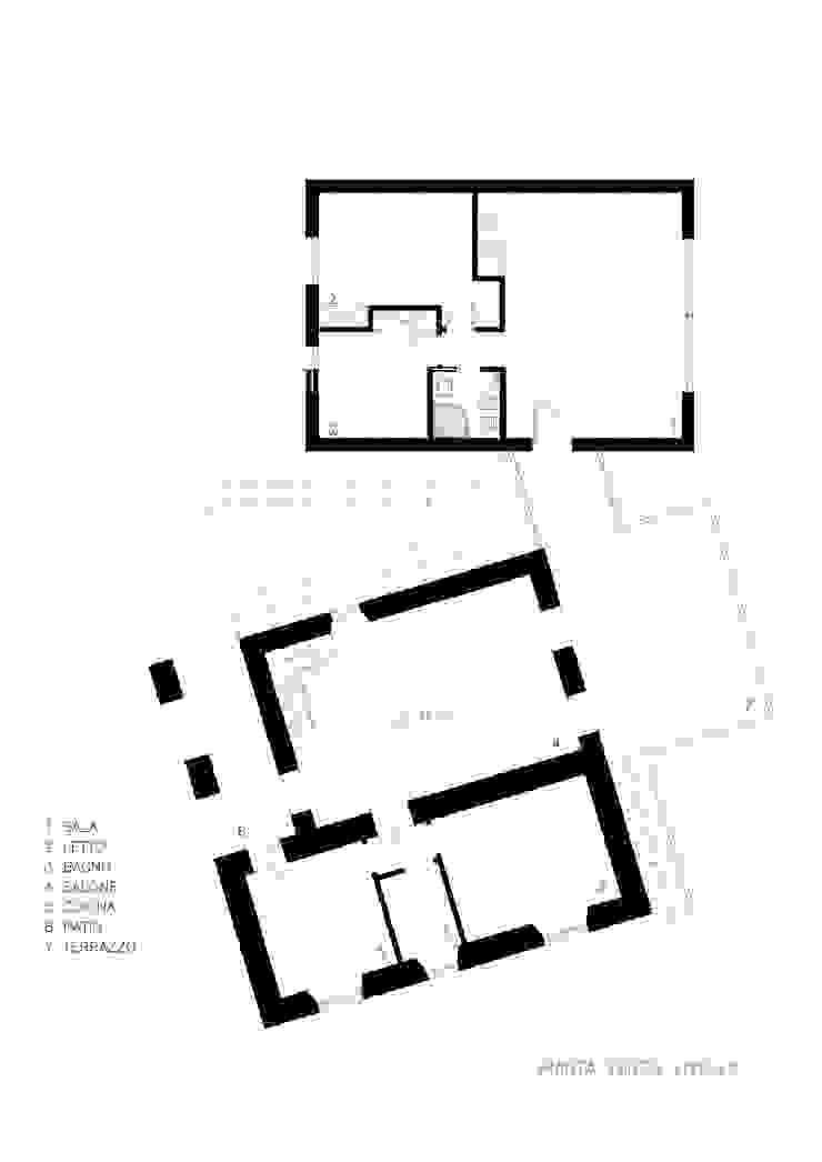 pianta terzo livello Architer Associati SpaAccessori per Piscina & Spa