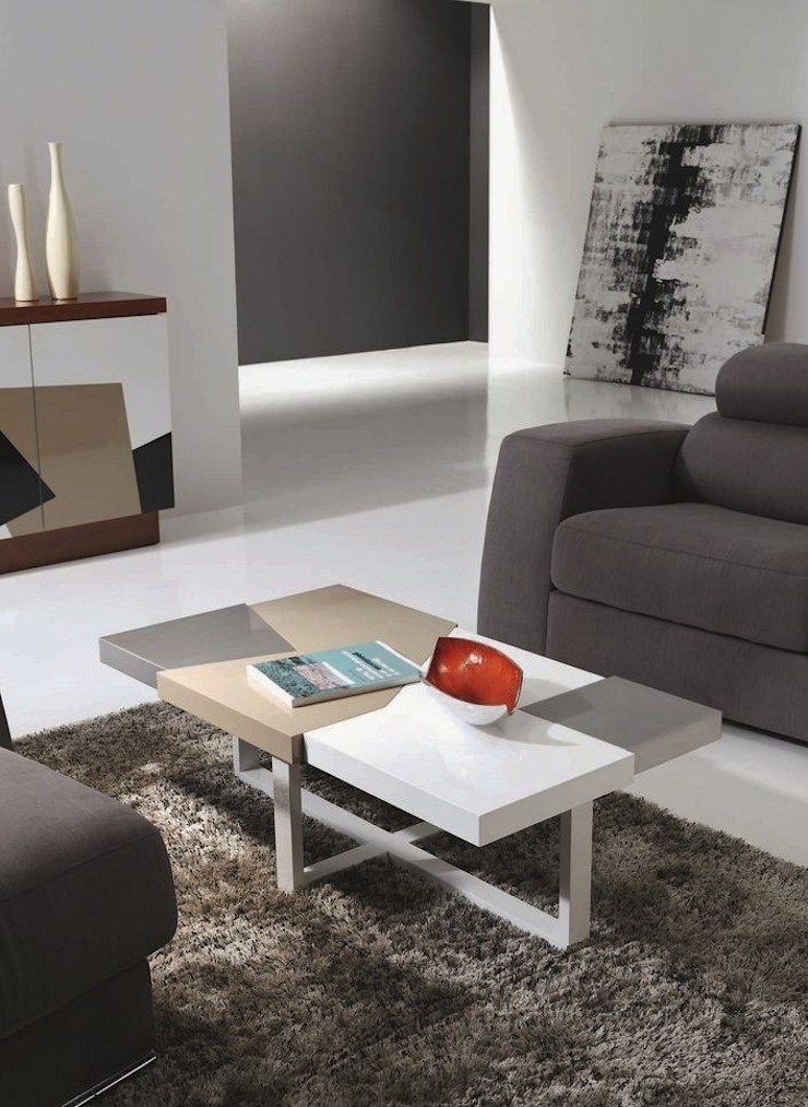 Mesa de centro rectangular Morada de Paco Escrivá Muebles Moderno