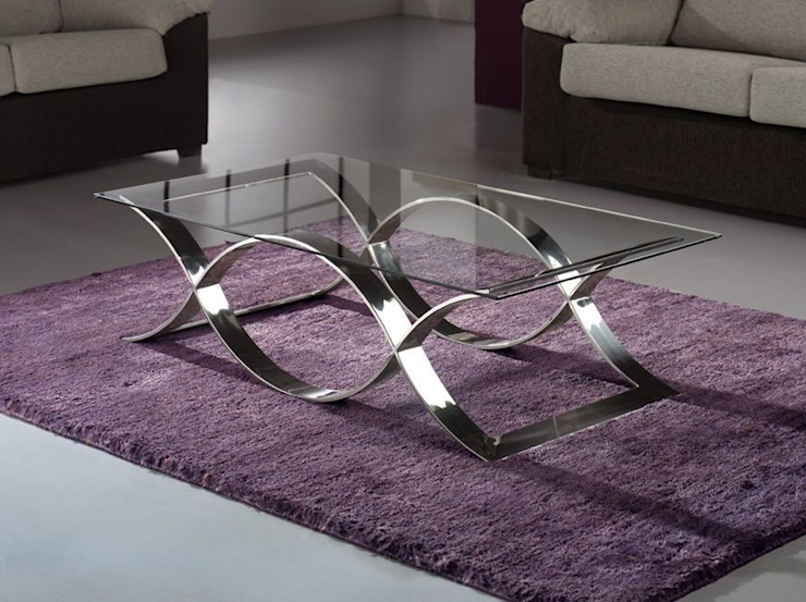 Mesa de centro de diseño Time de Paco Escrivá Muebles Moderno