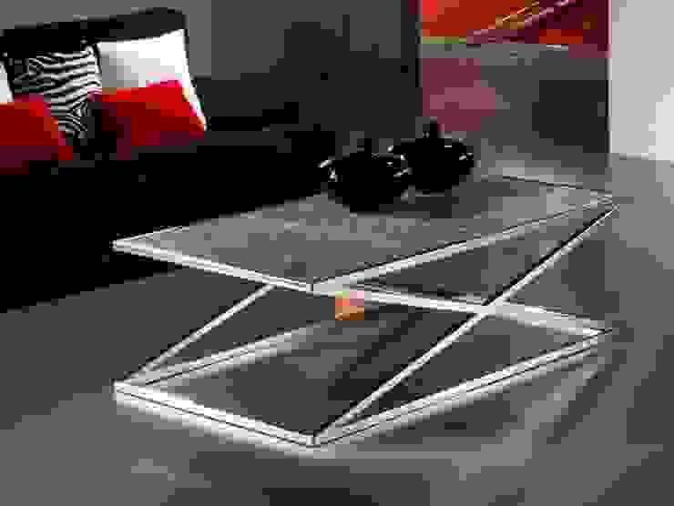 Mesa de centro moderna Aspa de Paco Escrivá Muebles Moderno