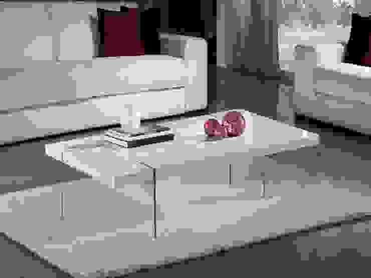 Mesa de centro moderna Brisa blanca de Paco Escrivá Muebles Moderno