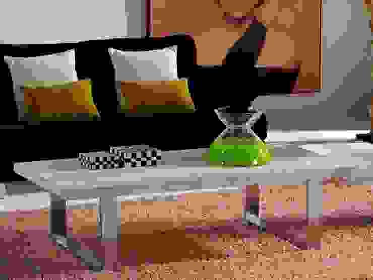 Mesa de centro moderna Pirena de Paco Escrivá Muebles Moderno