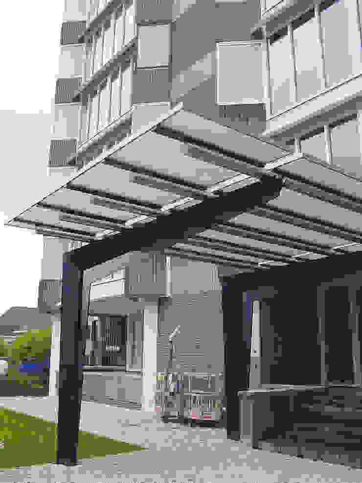 renovatie kantoorpand Moderne kantoorgebouwen van Linea architecten Modern