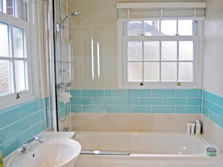 3 Bed detached house in Wimbledon, London Modern bathroom by Absolute Project Management Modern