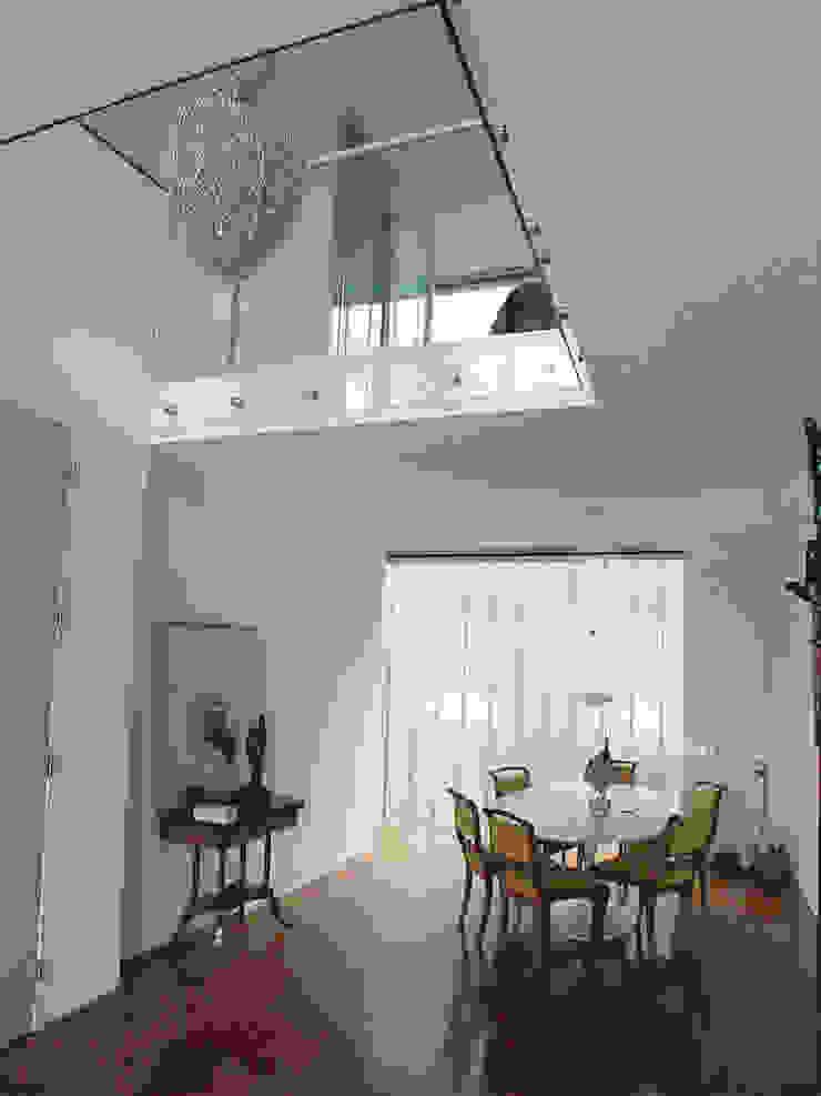 Linea architecten Ruang Keluarga Modern