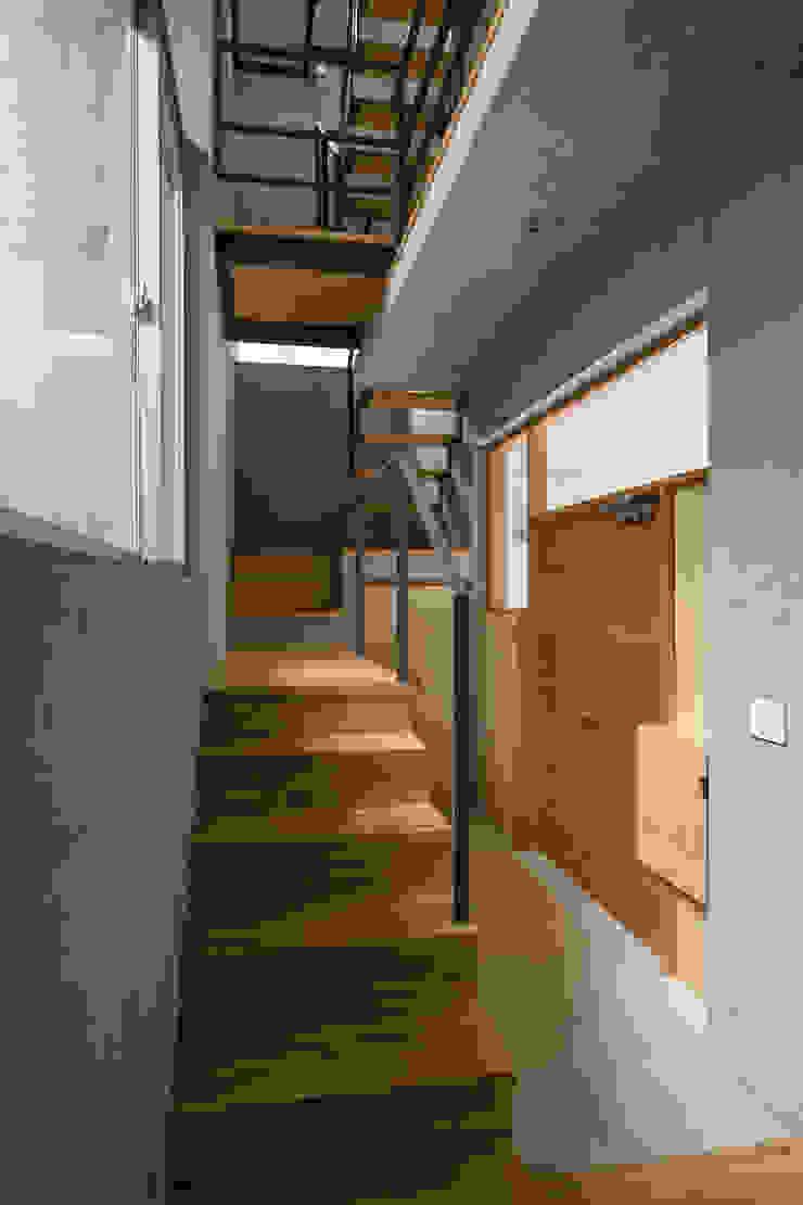 玄関 モダンスタイルの 玄関&廊下&階段 の 株式会社フォルムス/FORMS モダン
