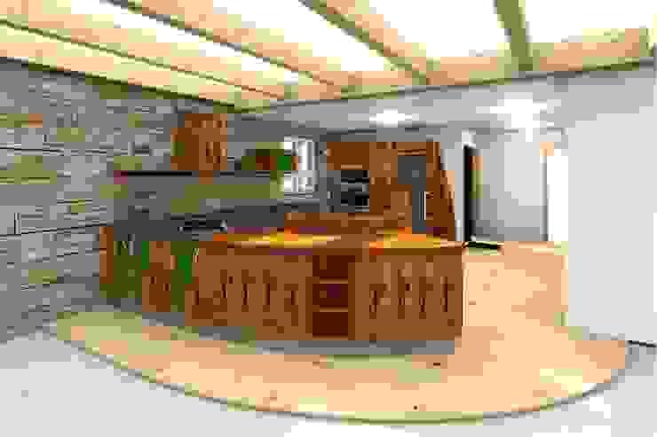 Foto realistische Küchenplanung Mediterrane Küchen von Pfister Möbelwerkstatt GdbR Mediterran