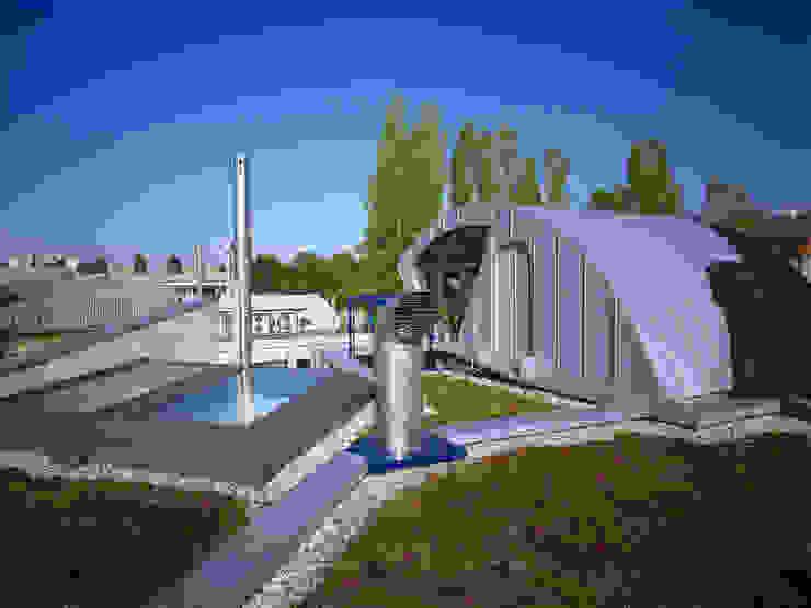 tetto giardino Pareti & Pavimenti in stile moderno di RoccAtelier Associati Moderno